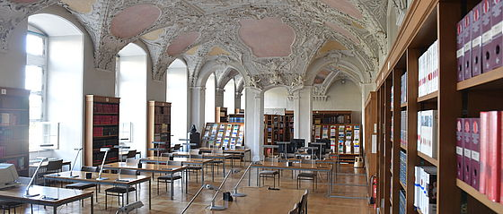 Lesesaal der Staatsbibliothek | SBB