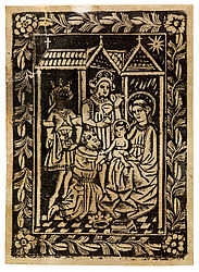 The Three Wise Men. Metalcut, ca. 1470 | SBB, VI Aa 50