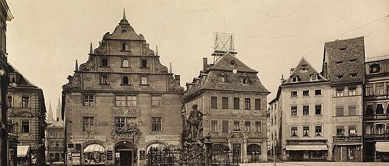 Alte Maut am Grünen Markt. Fotografie, 1913 | SBB, V Bd 1956.1