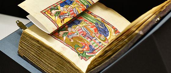 Der Bamberger Psalter wird faksimiliert   SBB