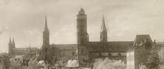 Blick vom Böttingers-Keller am Stephansberg. Fotografie von Carl Bauer, 1922 | V Bg 419