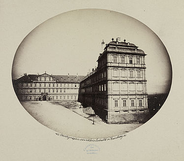 The New Residence in Bamberg. Photograph by Alois Erhardt (1827–1902) | SBB, V Bg 491