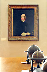 Portrait of Johann Nepomuk Pitius, Abbot of Langheim Abbey (1774–1791). Oil painting by Georg Anton Abraham Urlaub, 1774 | SBB