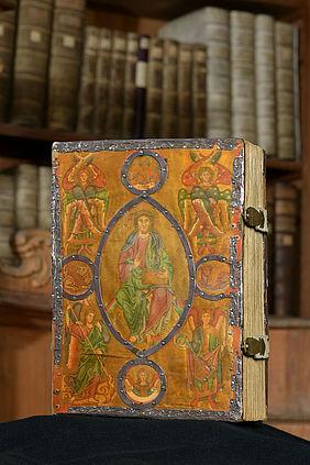 Archivraeume Msc.Bibl.48 Einband Staatsbibliothek Bamberg